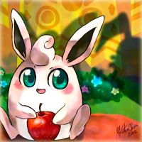 PKMN-Wigglytuff by Mikoto-chan