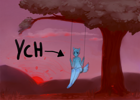 sunset swing YCH auction- closed by Toesies