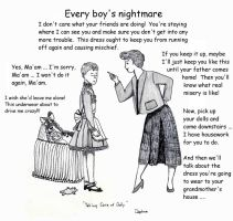 Every Boy's Nightmare by Daphnesecretgarden