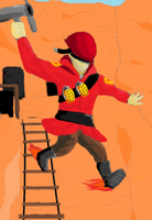 TF2 Rocket Jump by TheBlueFlower165
