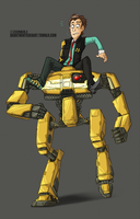 Hyperion Robo Buddies by ZombiDJ