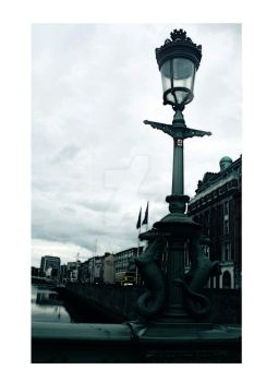 o' connell bridge by orangesonappletrees