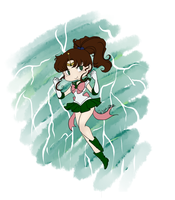 Chibi Sailor Jupiter by EternalGraveDancer
