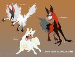 Sharp Teeth AUCTION [CLOSED] by StyxTwig