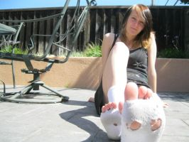 the homeless girl with holey socks 3 by wasabieater