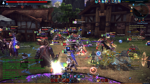 TERA GvG in Crescentia on MT by KindLittleMoon