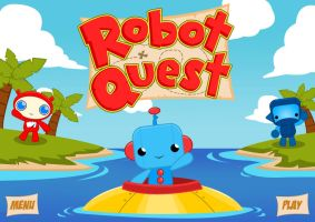 Robot Quest by cjcenteno