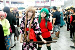 Gumi and Taiga by Lawrielle21