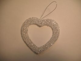 Ice Heart Ornament by Rubyfire14-Stock