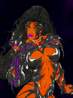 Komand'r, BlackFire by imaus1