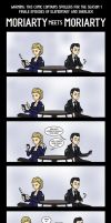 Elementary/Sherlock: Moriarty meets Moriarty by maryfgr23