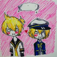 Oliver and Len by Growl-Flippy