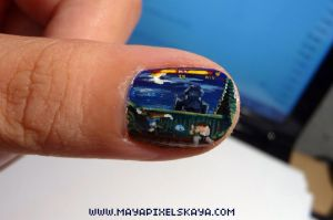 Street Fighter Nail Art by Maya-Plisetskaya