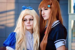 Kinuko and Hime by Nancy-Summer