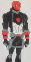 Red Hood Redesign by Trmartin0919