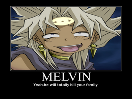Melvin might kill your family by BlackRoseEatsMuffins