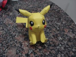 Pikachu Papercraft by darkruffy
