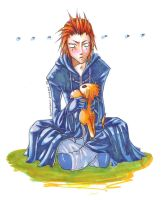 +Gasp+ Axel's Hidden Weakness by akewataru