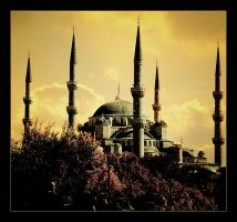 Sultanahmet Mosque 2 by mutos