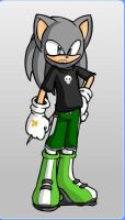 CM Punk as a Sonic Character by Gurahk2