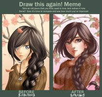 Before and After Meme by Lunalli-Chan