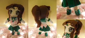 Sailor Jupiter Plushie by frillycarnival