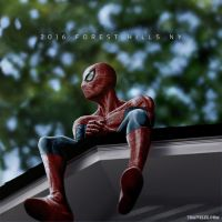 Spiderman / J. Cole Hip Hop Variant by punktx30