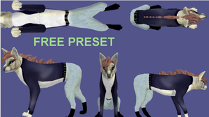 Free Human/Anthro Preset by FabouCaribou
