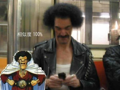 Mr Satan cosplay by RayDesanto