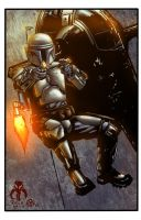 Jango Fett - colors by ZethKeeper