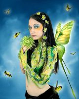 Spring Fairy by dianar87 by Realm-of-Fantasy