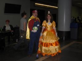 Mario and Princess Daisy by HisFallenTenshi