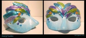 Mask of Feathers by SpaceTurtleStudios
