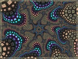 Fractal Mosaic by Rozrr