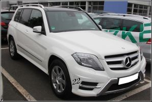 Mercedes GLK by 22photo