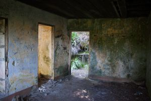Abandoned House Interior Stock 3 by SSyn-Stock