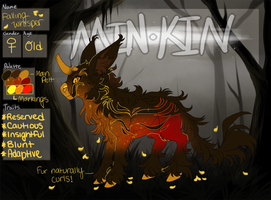 Falling Whisper Reference (Deceased) by AriiKnave