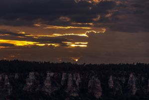 Fading Canyon Light by sequential