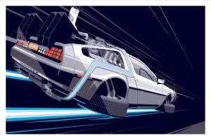 Back to the Delorian  by Destin2003
