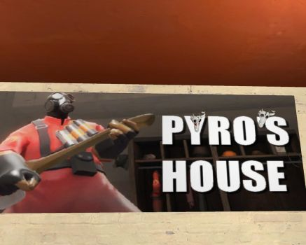 Pyromancer and Pyro's House by felipe1355