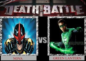 Nova VS Green Lantern DEATH BATTLE by Dark-dragon99
