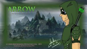 Arrow FanArtFriday art by MrsCromwell
