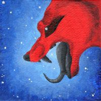 ACEO PC :: Kerberos by lucidcoyote