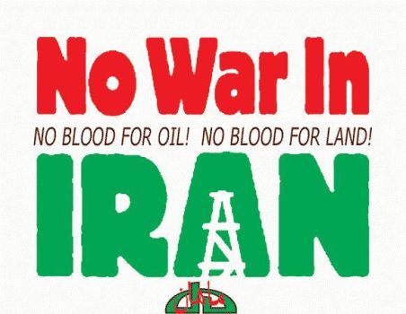 No War in Iran by Persians