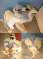 Griffin plush: more pictures by goiku