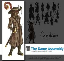 The Skillfull Huntsman - The Captain by Koskish