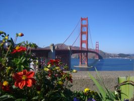 The Golden Gate by zbarama