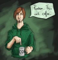 Coffee? or not? by Morgana-Pyrochan