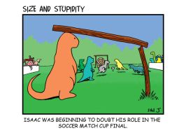 Soccer by Size-And-Stupidity