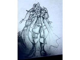 Alucard witha snorkel by SeanMcFarland
